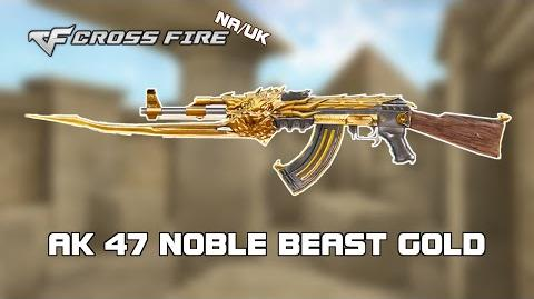 CF NA UK AK47 Noble Beast Gold review by svanced