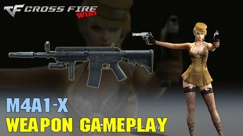 CrossFire - M4A1-X - Weapon Gameplay