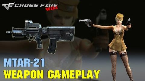 CrossFire - MTAR-21 - Weapon Gameplay