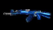 Platinum Blue AK-47 Knife