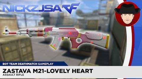 Zastava M21-Lovely Heart CROSSFIRE Japan 2