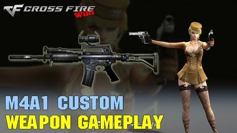 CrossFire - M4A1 Custom - Weapon Gameplay