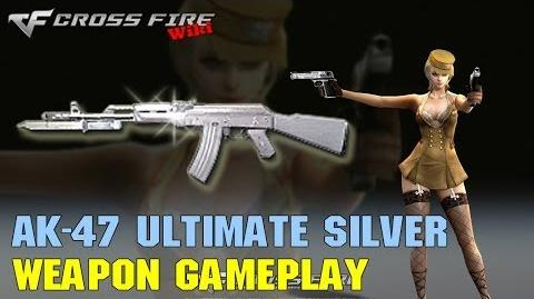 CrossFire - AK-47 Knife Ultimate Silver - Weapon Gameplay