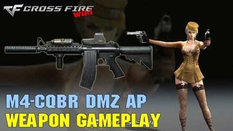 CrossFire - M4-CQBR DMZ AP - Weapon Gameplay