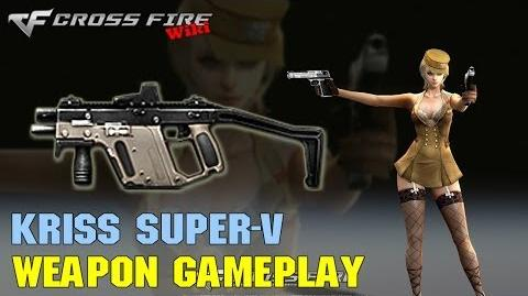 CrossFire - Kriss Super-V - Weapon Gameplay