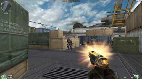 Cross Fire China -- COP 357 Derringer-Gold Phoenix!