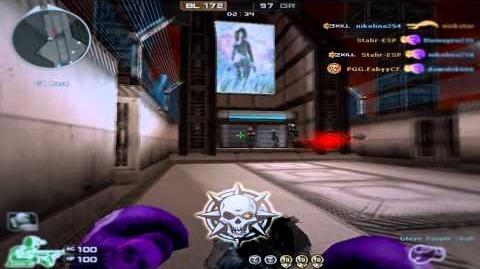 CF-EU Boxing Gloves Purple Skull Gameplay