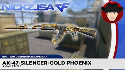 AK-47-Silencer-Gold Phoenix CROSSFIRE China 2