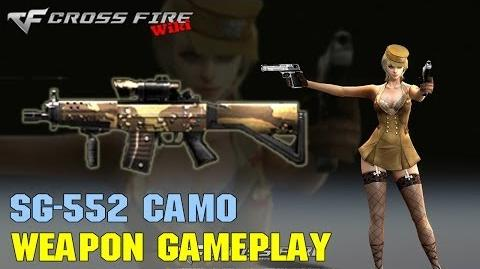 CrossFire - SG552 Camo - Weapon Gameplay