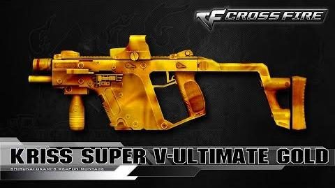 CrossFire China Kriss Super V-Ultimate Gold ☆