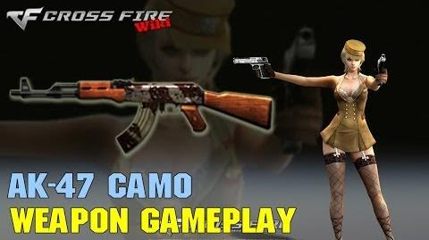 CrossFire - AK-47 Camo - Weapon Gameplay