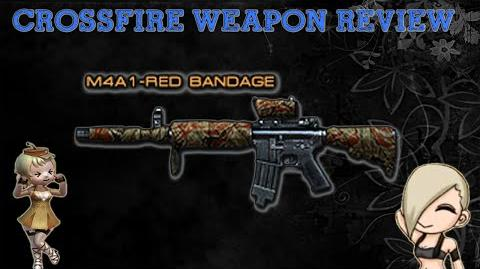CrossFire Vietnam - M4A1-S-Red Bandage -Review-!