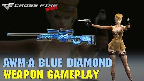 CrossFire - AWM Blue Diamond - Weapon Gameplay