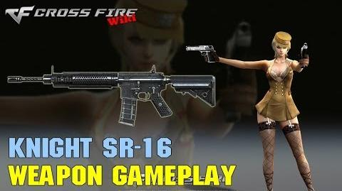 CrossFire - Knight SR-16 - Weapon Gameplay