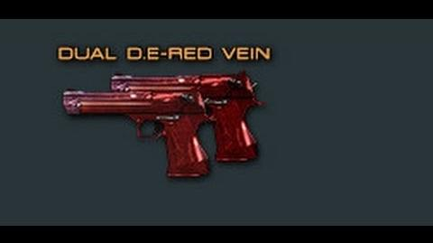 Cross Fire China Dual Desert Eagle-Red Skull Review !