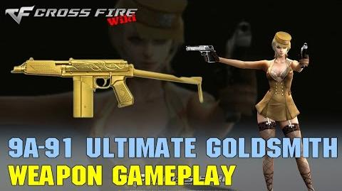 CrossFire - 9A-91 Ultimate Goldsmith - Weapon Gameplay
