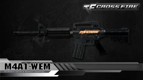 CrossFire Vietnam M4A1-WEM ☆