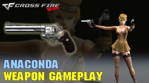 CrossFire - Anaconda - Weapon Gameplay
