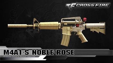 CrossFire Vietnam M4A1-S Noble Rose ☆