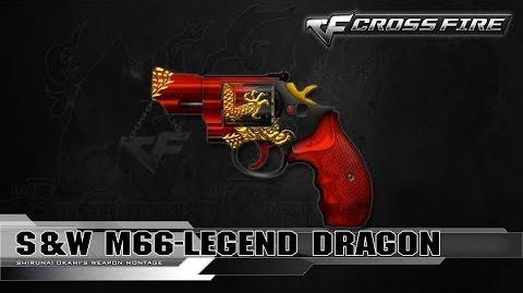 CrossFire Vietnam S&W M66-Legend Dragon ☆