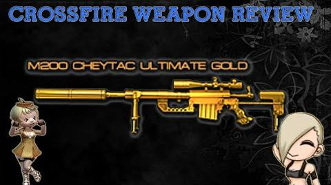 CrossFire Vietnam M200 Cheytac-Ultimate Gold Review!
