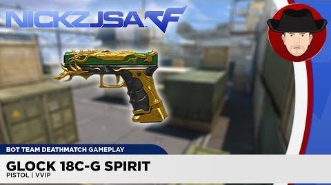 Glock 18C-G Spirit VVIP CROSSFIRE China 2