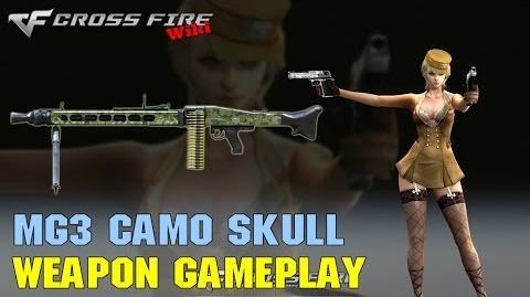 CrossFire - MG3 Camo Skull - Weapon Gameplay