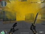 Yellow Smoke Effect