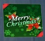 Merry X-Mas Spray Green
