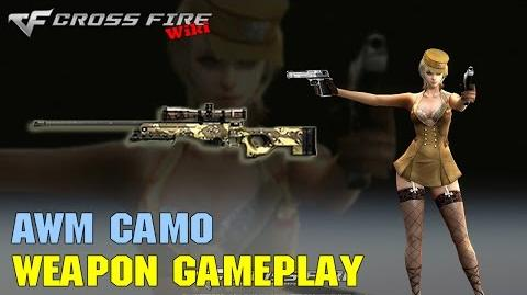 CrossFire - AWM Camo - Weapon Gameplay