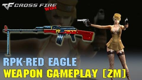 CrossFire - RPK Red Eagle - Weapon Gameplay