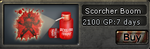 Scorcher Boom