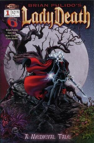 Brian Pulido's Lady Death A Medieval Tale Vol 1 1