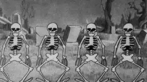 Silly symphony - the skeleton dance 1929 disney short