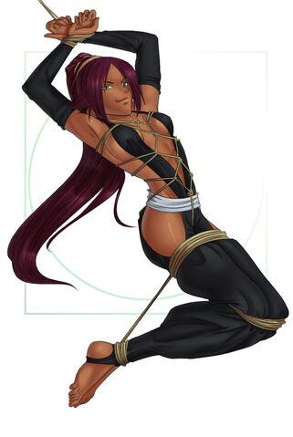 File:Sexy yoruichi bound.jpg