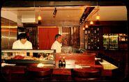 Sushi bar round