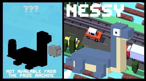 CROSSY ROAD NESSY Unlock NEW Secret Character UK Update The Loch Ness Monster (iOS, Android)