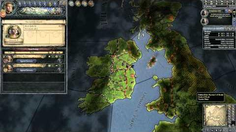 Crusader Kings 2 - Guide For Newbies - Part 5 - Ireland The First Battle