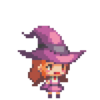 Purple Light Witch Dorothy