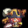 Navy Admiral Scarlet