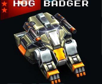 Hog Badger