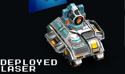 Deployed Laser