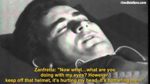 The Pier Fortunato Zanfretta's hypnosis made by Dr