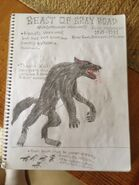 Cryptid sketch beast of bray road by strikerprime-d83j8j1
