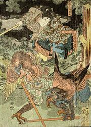 Kuniyoshi-sojobo-yoshitsune
