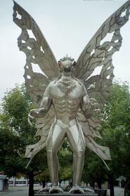 Mothman statue 2005