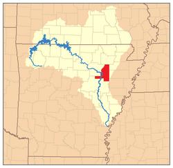 White River Monster Map