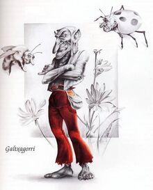 Galtzagorriak