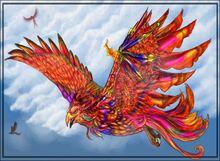 Water Phoenix by Anglerfish5