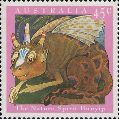File:Bunyip Stamp.jpg